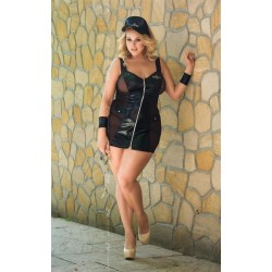 Police Costume Femme Sexy Grande Taille