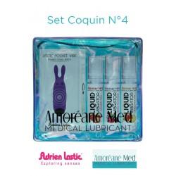Set Coquin Mini Vibro et 3 Lub Vibrator N°4