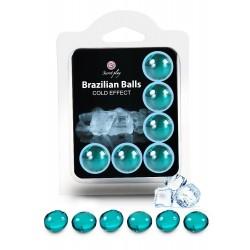 Boules Brésiliennes Effet FROID X6